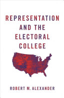 link to Representation and the Electoral College in the TCC library catalog