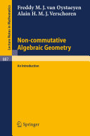 Non commutative Algebraic Geometry