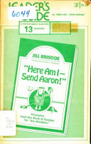 Here am I--send Aaron