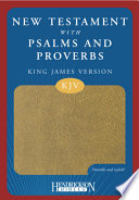 New Testament with Psalms and Proverbs-KJV