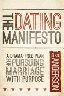 Pdf The Dating Manifesto Telecharger