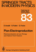 Pion-Electroproduction