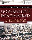 Developing Government Bond Markets Book PDF