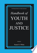 Handbook Of Youth And Justice Book PDF