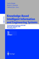 Knowledge Based Intelligent Information and Engineering Systems 1