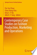 Contemporary Case Studies on Fashion Production  Marketing and Operations Book