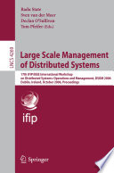Large Scale Management of Distributed Systems Book