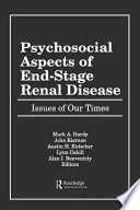 Psychosocial Aspects of End-stage Renal Disease