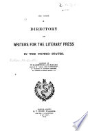 A directory of writers for the literary press in the U.S....