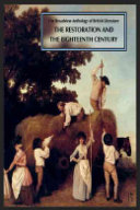 The Broadview Anthology of British Literature  The Restoration and the eighteeenth century