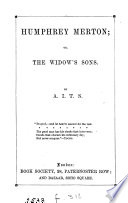 Humphrey Merton  or  The widow s sons  by A I T S