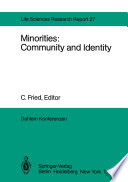 Minorities: Community and Identity