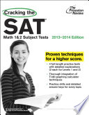 Cracking the SAT Math 1   2 Subject Tests  2013 2014 Edition Book