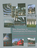 New Directions In Contemporary Architecture PDF