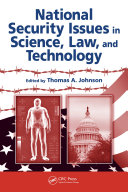 Pdf National Security Issues in Science, Law, and Technology Telecharger