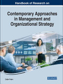 Pdf Handbook of Research on Contemporary Approaches in Management and Organizational Strategy Telecharger
