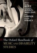 The Oxford Handbook of Music and Disability Studies Pdf/ePub eBook