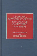 Historical Dictionary of the Republic of Cape Verde Book