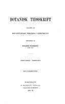 Pdf Botanisk Tidsskrift