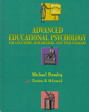 Advanced Educational Psychology for Educators  Researchers  and Policymakers Book