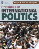 Principles of International Politics Book