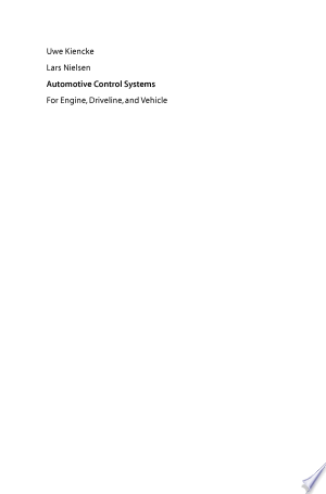 Download Automotive Control Systems Free Books - Reading Best Books For Free 2018