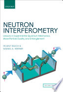 Neutron Interferometry Book PDF