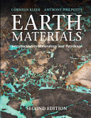 Earth Materials 2nd Edition