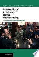 Conversational Repair and Human Understanding