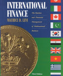 Cover of International Finance