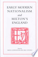 Early Modern Nationalism and Milton s England