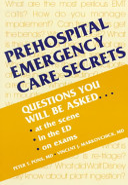 Prehospital Emergency Care Secrets