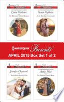 Harlequin Presents April 2015 Box Set 1 Of 2