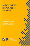 Pdf Machining Impossible Shapes
