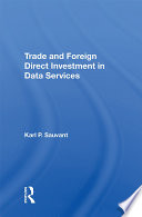 Trade And Foreign Direct Investment In Data Services