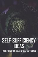 Self Sufficiency Ideas