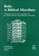 Bede : a Biblical Miscellany