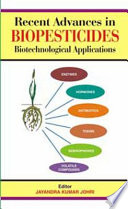 Recent Advances in Biopesticides Book