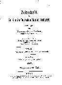 Zeitschrift Des Vereins Der Deutschen Zucker-Industrie