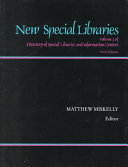 New Special Libraries