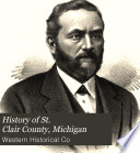 History of St  Clair County  Michigan