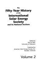 The Fifty year History of the International Solar Energy Society and Its National Sections Book PDF