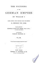 The Founding of the German Empire by William I