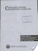 Confused Minds  Burdened Families