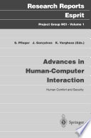 Advances in Human Computer Interaction Book