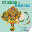 Sticker by Number: Calming Creatures