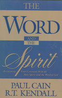 The Word and the Spirit