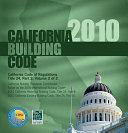 California Building Code 2010
