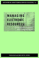 Managing Electronic Resources Book