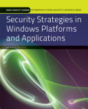 Security Strategies in Windows Platforms and Applications
